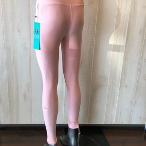 Alo High Waist Tech Powder Legging- Powder Pink